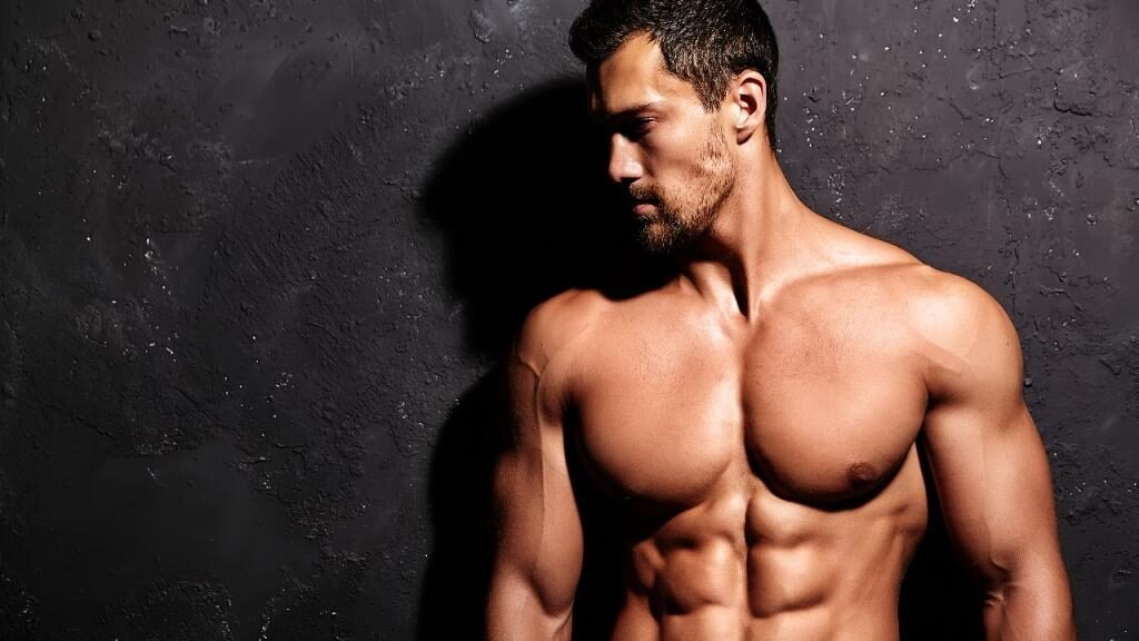 fitness model six pack pabs